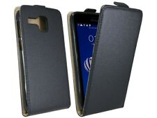 Handy Tasche Hülle Case Schutz Zubehör in Schwarz für Lenovo A8 A806 @COFI