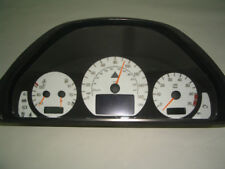AMG Style Premium White Gauge Face Overlay For 2000-2002 Mercedes W210 E Class