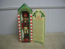 "Kurt Adler 7"" Old World Wood Nutcracker Vintage Red White & Blue Soldier in Box"