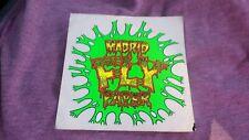 Madrid (Large) Fly Paper Vintage Skateboard Sticker