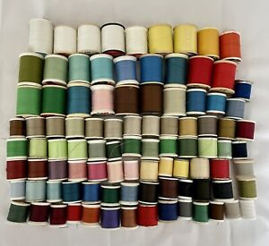 Lot Of 95 Spools Of Sewing Thread