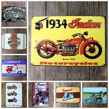 20*30CM Vintage Metal Sign Tin Motorcycle Home Bar Pub Garage Decor Poster Tools