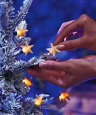 50-Pcs. Star Light Pop-Ons Bulb Covers Christmas Tree Decor with FREE Ornament