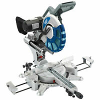 Draper 28045 305mm double bevel sliding compound mitre saw with laser 240volt
