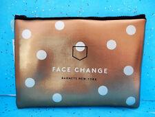 Barneys New York Bronze Change Starts Within Neoprene Makeup Bag Cosmetic Travel