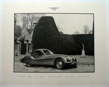 Jaguar XK 120 Coupe  ORIGINAL Factory showroom poster