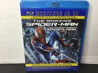 The Amazing Spider-Man (Blu-ray Disc, 2013, Canadian)