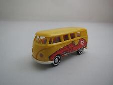 "Brekina  Volkswagen  T 1  Bus  ""gelb/rot  # 12""  1:87  in  Vitrine !!! (15)"