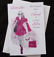 2506 Personalised Handmade Wedding Engagement Anniversary Card  Love Cats