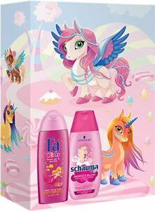 Fa Kids & Schauma Gift Set for Girl Shampoo 250ml + Shower Gel 250ml