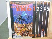 Ultimate End #1,2,3,4 & 5 Battleworld  Marvel Comics vf/nm CB2495