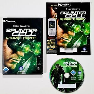 PC DVD-Rom SPLINTER CELL CHAOS THEORY dt. Stealth Shooter/Agent/Koop