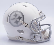 NFL Football Americano PITTSBURGH STEELERS-ICE alternativa CASCO RIDDELL MINI