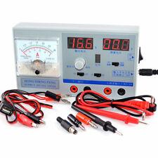 Adjustable DC Power Supply Current Meter Voltmeter Phone Repair Regulated Power