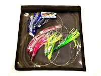 Saltwater trolling daisy chain set of 3