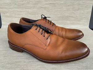 Aston Grey Orlando Men's  Lace Up Leather Oxford Shoes, Size 12