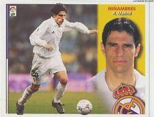 MINAMBRES # ESPANA REAL MADRID LIGA 2003 ESTE STICKER CROMO