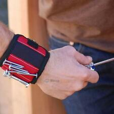 Magnetic Wristband Pocket Tool Belt Pouch Bag Screws Holding Working Helper Kit