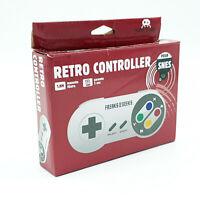 Manette Super Nintendo SNES - Retro Controller - Comme neuf