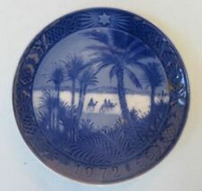 Royal Copenhagen Christmas plate, 1972, In The Desert