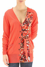 Paul Smith cardigan pannello fiori tg 40, flower print detail cardigan size S