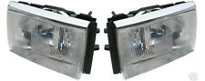 HEADLIGHT LAMP  assembly  PAIR SET LEFT & RIGHT NEW  VOLVO 240 1372107 1372106