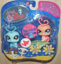 Littlest Pet Shop SPECIAL EDITION LOVE BUGS & SEE-SAW 838 839 RETIRED
