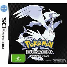 Nintendo TWLPIRBO Pokemon Black Version Video Game for Nintenedo DS