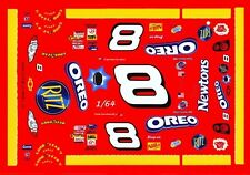 #8 Dale Earnhardt jr Oreo 2003 1/64th Ho Scale Slot Car Waterslide Decals