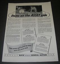 Print Ad WW2 1942 Buick General Motors War Production Items on ASSET side
