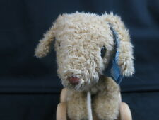JUST ONE YEAR CARTER'S PUPPY DOG SKATES ROLLER ROPE LEASH  PLUSH STUFFED  RARE
