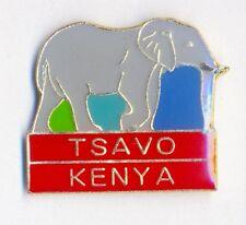 TSAVO KENYA ELEPHANT - LAPEL PIN