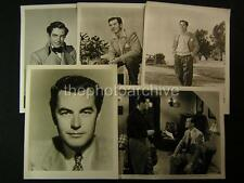 Philip Friend VINTAGE 5 Assorted Movie PHOTO LOT 388W