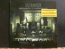 ULTRAVOX  Monument the soundtrack    LP    Nice copy !