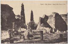 TIVOLI - VILLA ADRIANA - AVANZI DELLA PIAZZA D'ORO (ROMA)