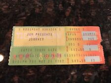 JOURNEY CONCERT TICKET STUB!  ROSEMONT HORIZON - 5-21-1982 - EXCELLENT CONDITION