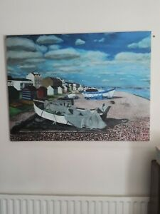 Large canvas pictures used