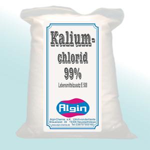 Kaliumchlorid 99% E508 1-kg-ClipBeutel