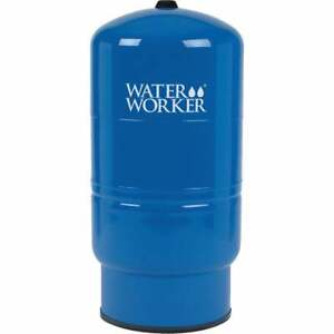 Water Worker 32 Gal. Vertical Pre-Charged Well Pressure Tank HT-32B  - 1 Each