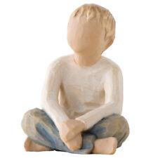 Willow Tree Imaginative Child Figurine 26226  Boy in Branded Gift Box