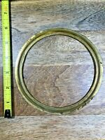 Old Brass Clock Dial Trim Ring Surround   (Clock Dial Lot K1290)