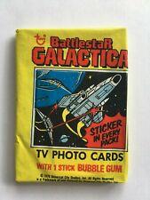 1 Battlestar Galactica Wax Pack Topps 1978 Vintage Sealed lot Nos Hard To Find