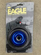 NEW EAGLE METAL CORE 100MM BLACK BLUE HANDMADE PRO FREESTYLE TRICK SCOOTER WHEEL