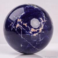 1036g 95mm Large Natural Blue Sodalite Quartz Crystal Sphere Healing Ball Chakra