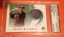 2002 UD SP Game Used GOLF #F9SMW Mike WEIR Front 9 Fabric JERSEY CARD Upper Deck