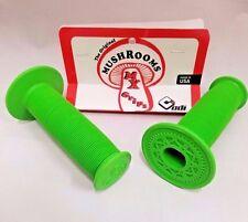 OLD SCHOOL BMX ODI MUSHROOM GRIPS GREEN