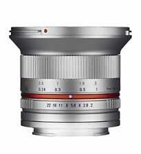 Samyang 12mm f/2.0 NCS CS for Sony e (silver) Stock in EU mejor