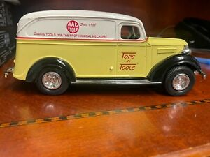 "Mac Tools ""Top in Tools"" 1938 Coin Bank Car"