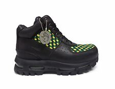 Nike Big Kids' AIR MAX GOADOME Shoes Black/Pine Green/Maize 311567-031 a10