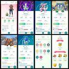 Pokémon Account Go Level 40   60 Shiny   234 Legendary   74,4*pokemon